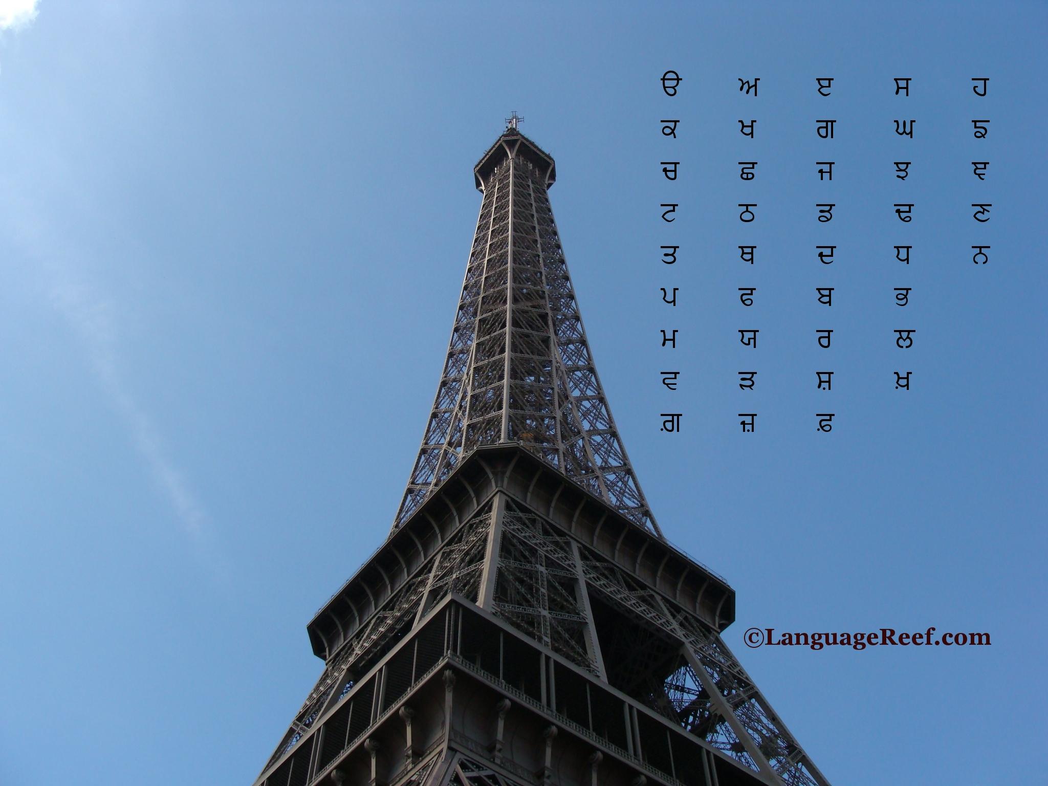 Croll blog punjabi alphabet blueprint malvernweather Choice Image